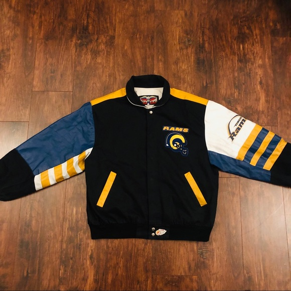 b110a3ff St. Louis / Los Angeles Rams Letterman Jacket NFL